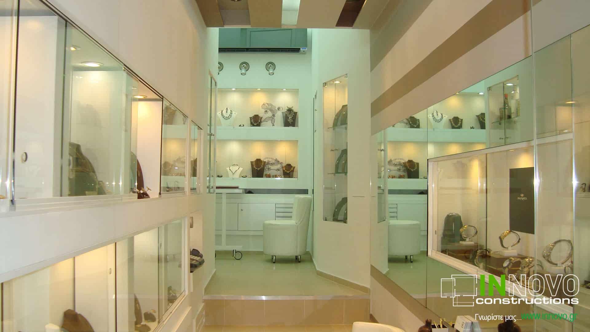 Κατασκευή κοσμηματοπωλείου στο Μοναστηράκι
