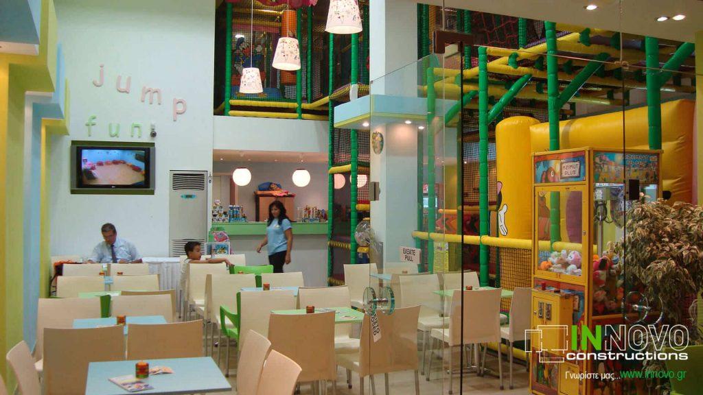 Κατασκευή παιδότοπου στο Καματερό